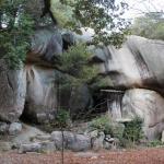 岩屋奥の院 大岩