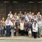 泉涌寺にて団体写真