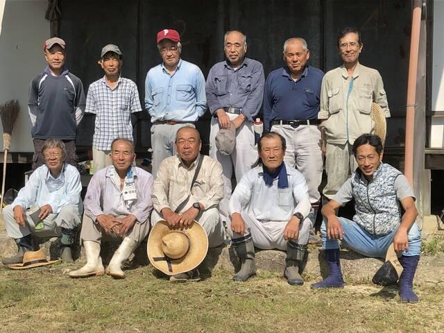 201909岩屋奥の院清掃活動:奥坂・西阿曽地区有志の皆様